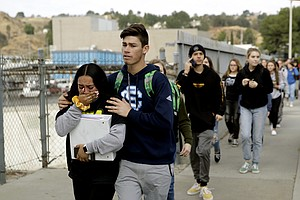 2 Dead In Santa Clarita School Shooting; Gunman Shoots Self