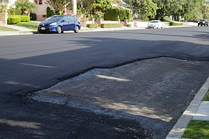Photo for San Diego Street Repaved, But One Parking Space Not Included