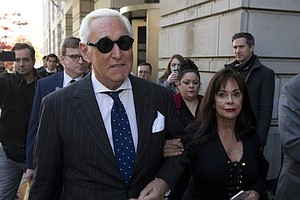 Photo for Roger Stone Guilty Of Witness Tampering, Lying To Congress