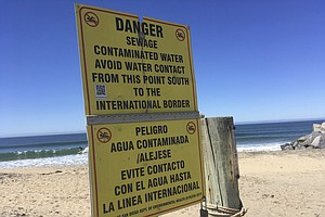 Photo for Contaminated Beaches Closed For The Tijuana Slough Shoreline