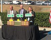 Caltrans and city officials announced the compl...