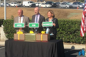 Photo for Caltrans Announces Completion Of Friars Road Overpass In Mission Valley
