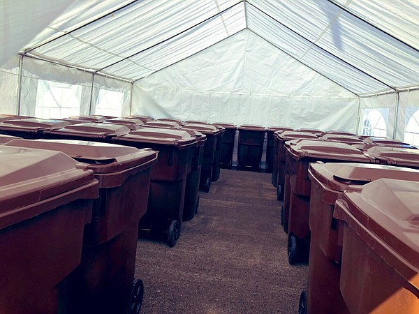 Storage bins for people experiencing homelessness, Dec. 2...