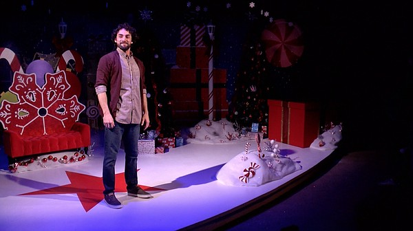 Wil Bethmann as Crumpet in Diversionary Theatre's product...