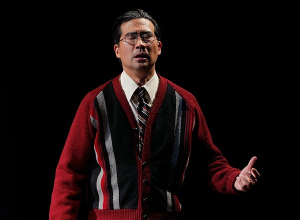 Ryun Yu is pictured in a performance of