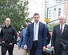 Rep. Duncan Hunter arrives at the federal court...