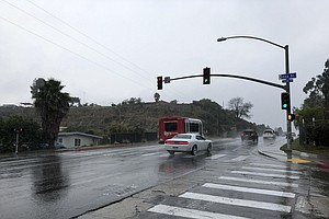 Photo for Chance Of Rain, Light Snow Continues In San Diego County