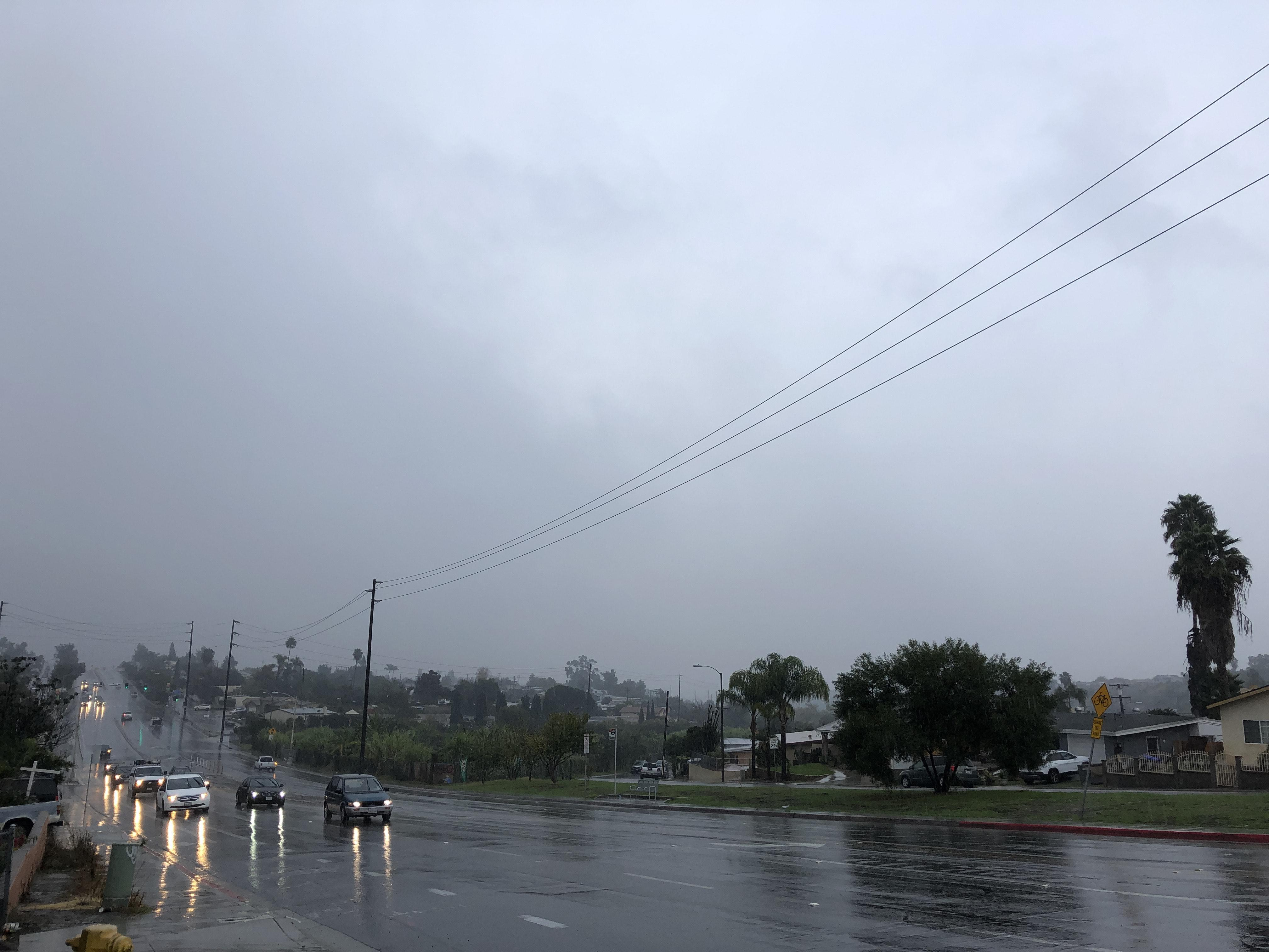 Overnight Storm Makes For A Wet Morning Commute In San Diego
