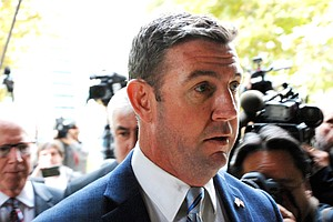 Photo for Trump Pardons 15 People, Including Former San Diego Rep. Duncan Hunter