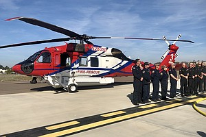 Photo for SDFD Rolls Out New $20 Million Firefighting Helicopter