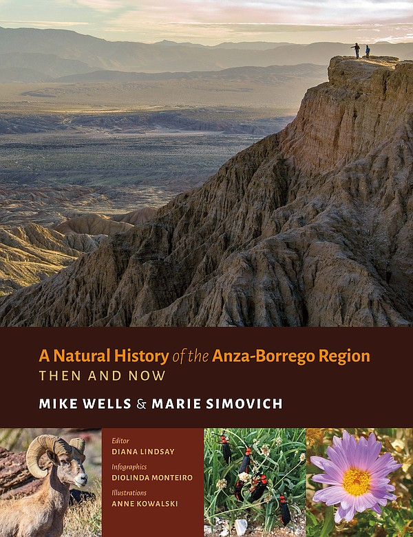 "The cover of ""A Natural History of the Anza-Borrego Regio..."