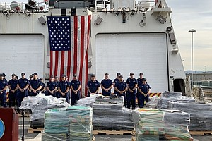 Photo for Coast Guard Offloads 9 Tons Of Cocaine Seized In Eastern Pacific Ocean