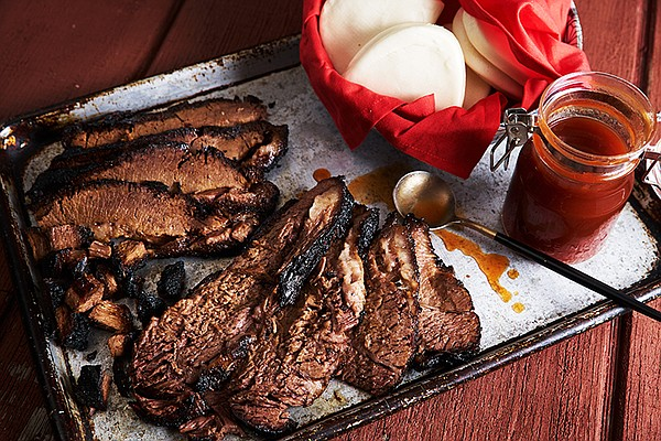 "East-West packer brisket featured in the episode ""Brisket..."