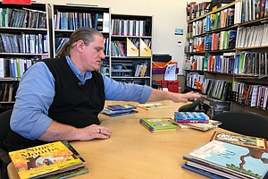 Photo for San Diego Librarian Shares His Top 12 Kids Books Of 2019