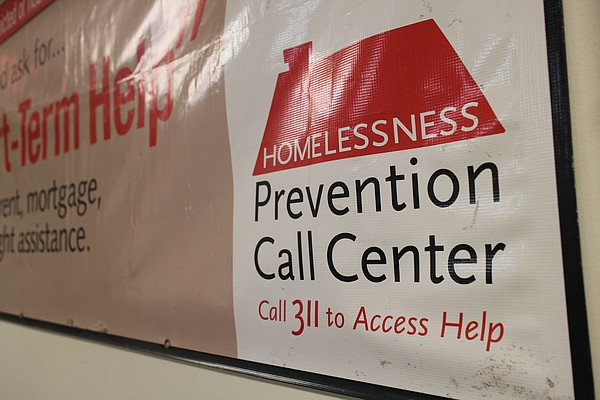 Chicago advertises its homeless prevention call center to...