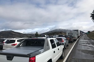 Photo for Southern California Skies Clear But Highway Problems Persist