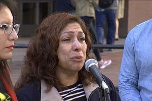 Photo for After 30 Years Building Life In America, San Diego Woman Deported Again To Me...