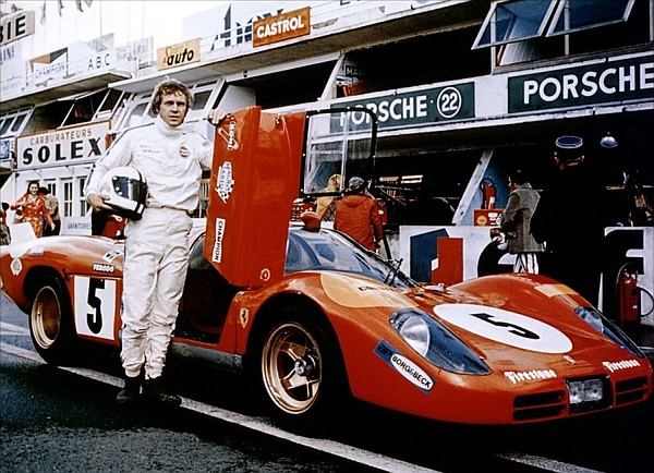 Steve McQueen, the epitome of cool, stars as a race car d...