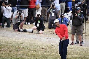 Photo for Tiger Woods Commits To Farmers Insurance Open At Torrey Pines