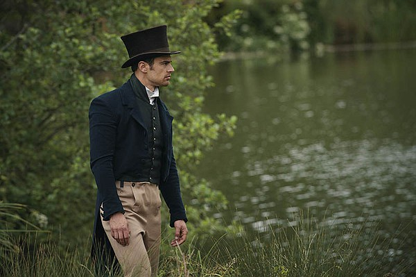 Shown: Theo James as Sidney Parker.