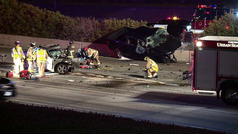 Two people were killed in a wrong-way crash Jan. 14, 2020, on northbound Inte...