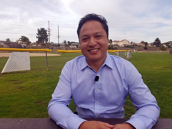 Noli Zosa, a candidate for San Diego City Council Distric...