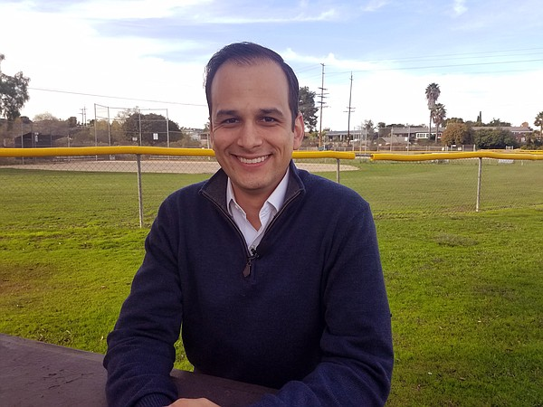 Raul Campillo, a candidate for San Diego City Council Dis...