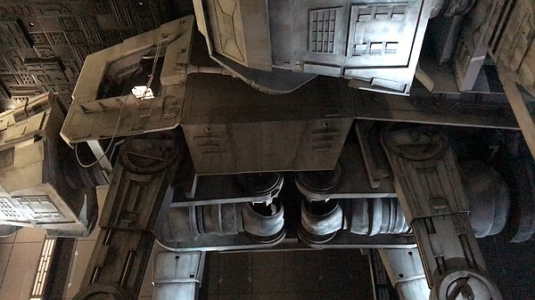 Traveling underneath a giant AT-AT was my favorite part o...