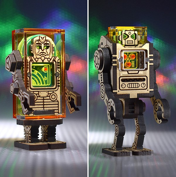 Patrick Ho's Sozotron Robots are just one of the custom t...