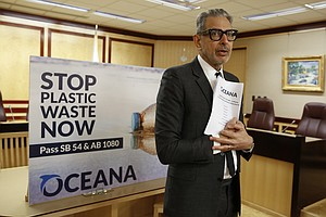 Photo for Celebrities Back California Bill To Cut Single-Use Plastics