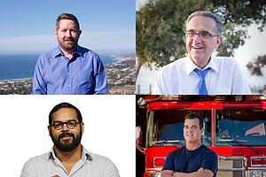 Photo for Different Shades Of Blue In City Council District 1 Race