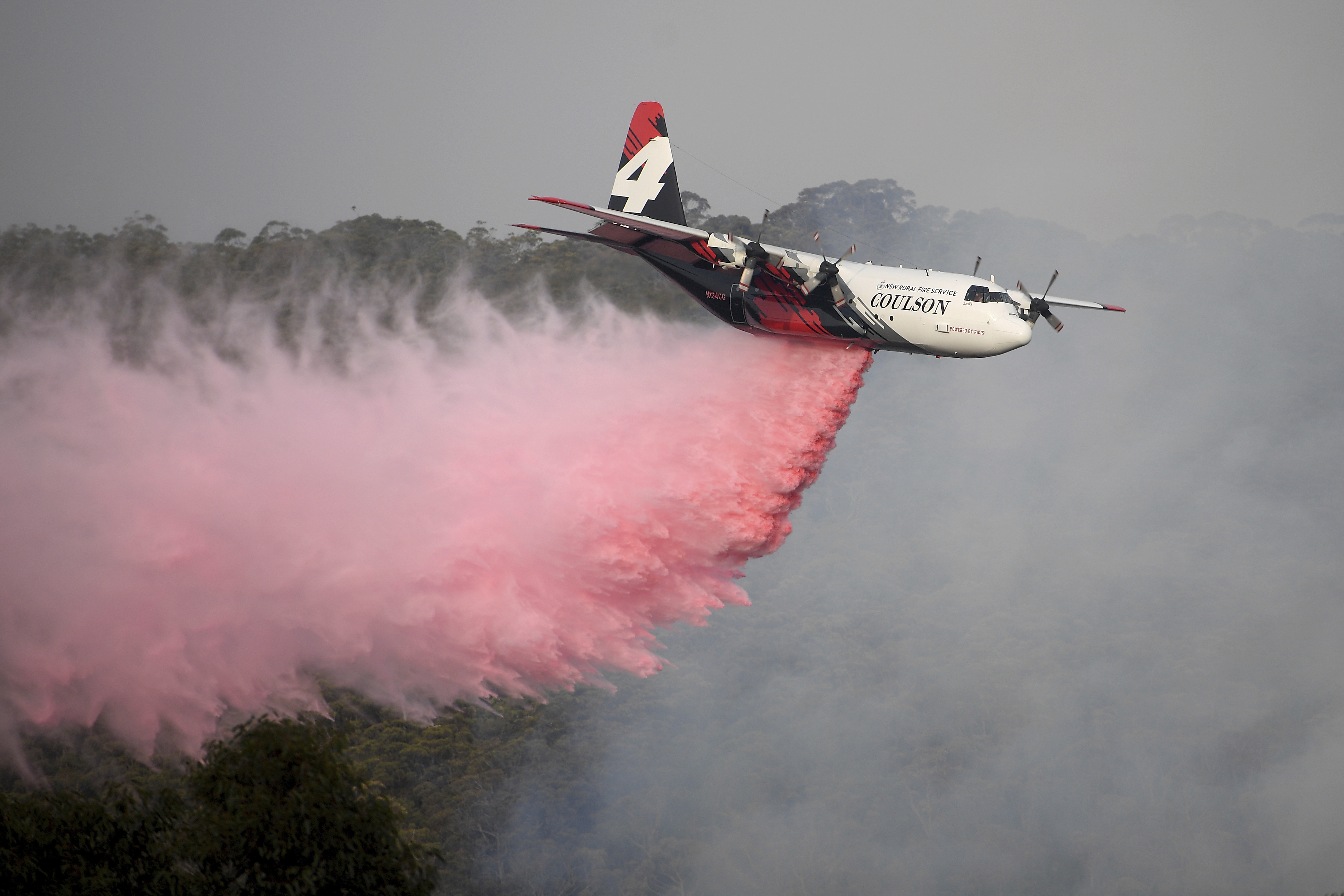 Australia Works To Recover Bodies Of 3 Americans From Air Tanker Crash