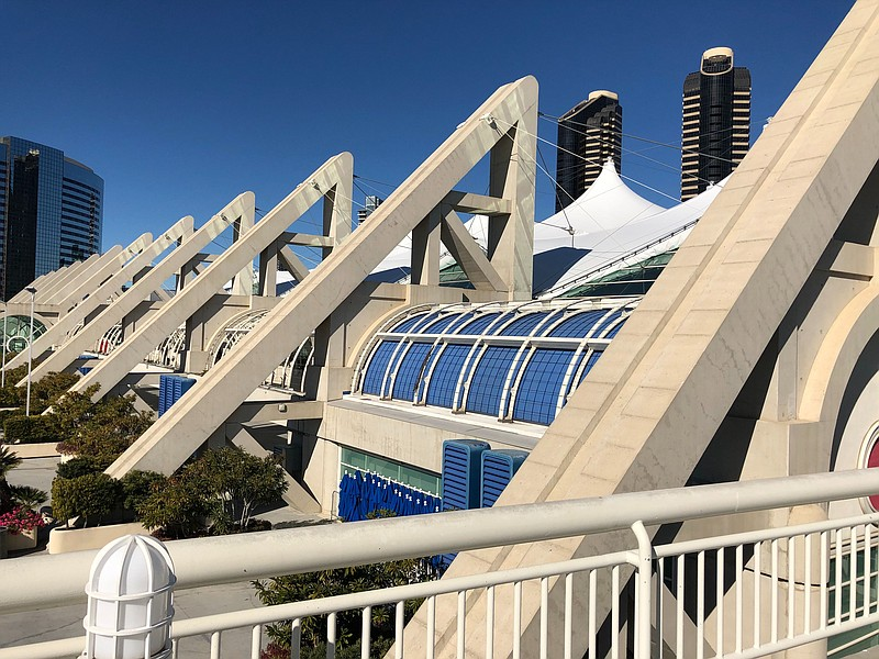 San Diego Convention Center on Jan. 14, 2020.