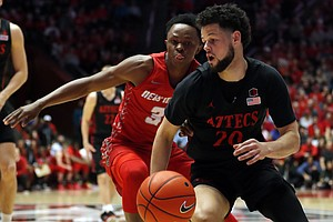 Photo for No. 4 San Diego State Still Unbeaten After Rout Of New Mexico