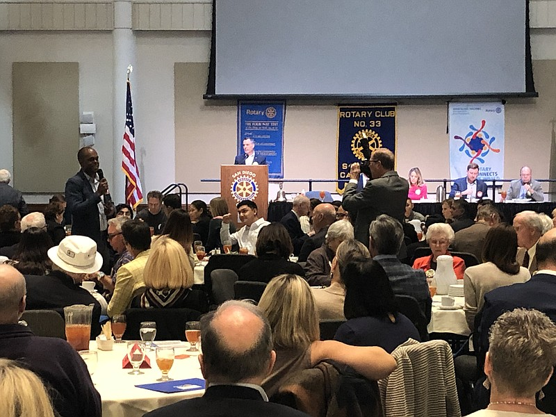 The Rotary Club Of San Diego gave $45,000 to 3 San Diego area school district...