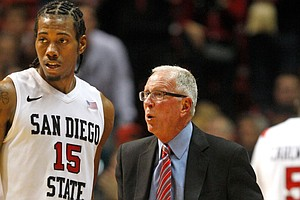 Photo for Aztecs Will Retire Kawhi Leonard's Jersey This Weekend