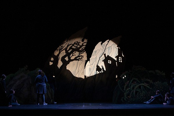 A scene from San Diego Opera's production of