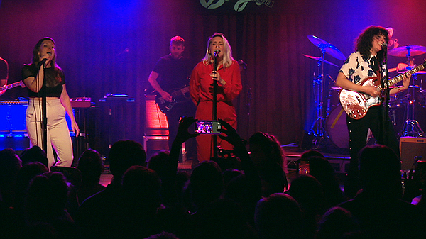 Joseph performs live at the Belly Up Tavern.