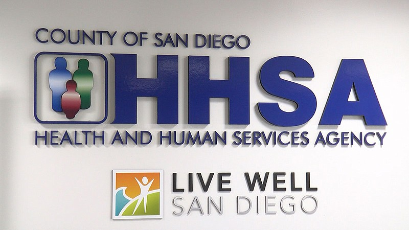 The county Health and Human Services building, Jan. 28, 2020.