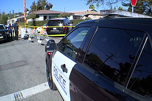 Photo for El Cajon Police Shooting Leaves Auto-Theft Suspect Hospitalized