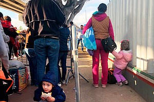 Photo for Lawsuit: Asylum-Seekers Languishing In Mexico Must Be Given Access To Lawyers