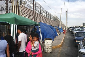 Photo for Holding-Cell Stats Raise Questions About Trump Asylum Policy