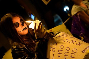 Photo for Women Demand Action As Femicides Increase In Sonora, Nationwide