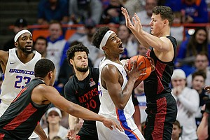 Photo for No. 4 SD State Beats Boise State 72-55, Remains Undefeated