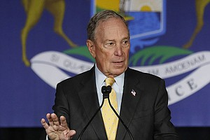 Nevada Debate Could Be A 'Make Or Break' For Bloomberg, Analysts Say