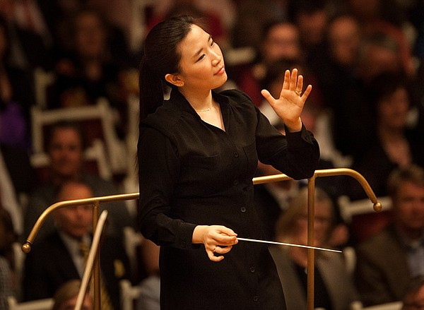 Conductor Eun Sun Kim will appear with the San Diego Symp...