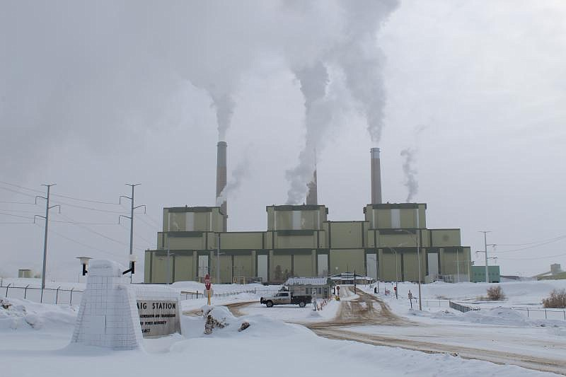 Craig Station, a coal fired power plant in northwest Colorado, is pictured in...