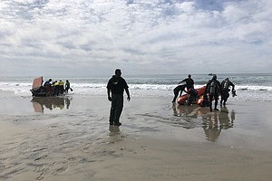 Photo for Search Continues For 'Dump And Run' Boat Survivors Off Del Mar Coast