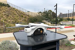 Photo for UC San Diego Doctors Testing Drones To Help Reduce Patient Wait Time
