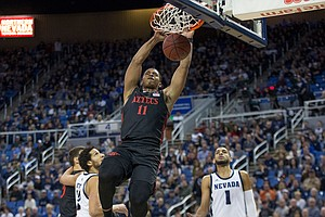 Photo for San Diego State's Mitchell Declares For NBA Draft